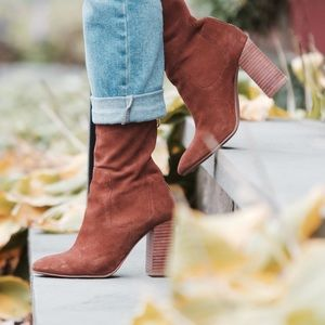 Shoes - GREAT CONDITION SUEDE H&M BOOTS